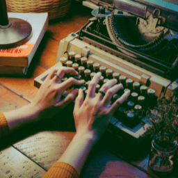 using a typewriter, you might want to update your technology