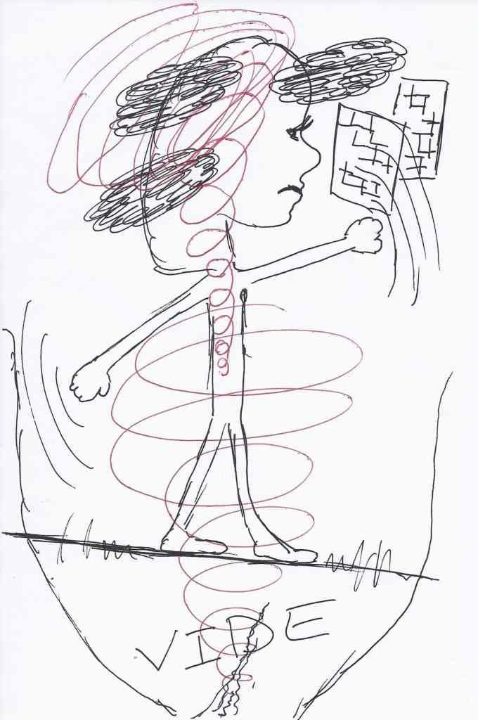 Le vide sous mes pieds - Sabine PERNET