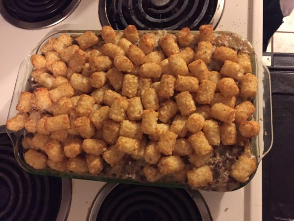 img 0887 e1516756207607 600x450 The Ultimate Tater Tot Casserole