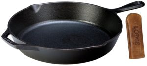LodgeSkillet 300x134 What Equipment is needed for camping?