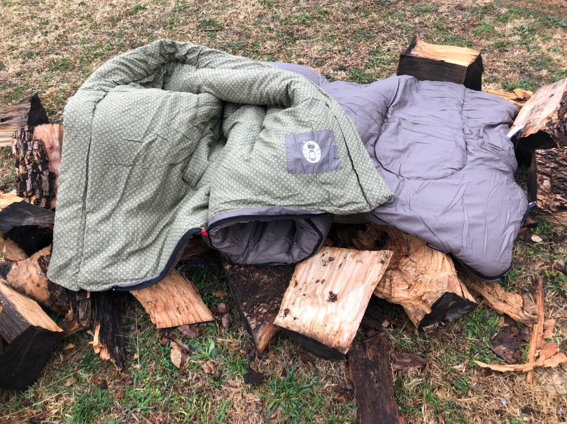 img 2396 e1547231398360 Coleman Oak Point Sleeping Bag Review