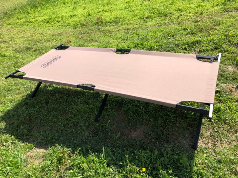 Coleman Trailhead II is strong enough to support 300 pound of tired camper.,