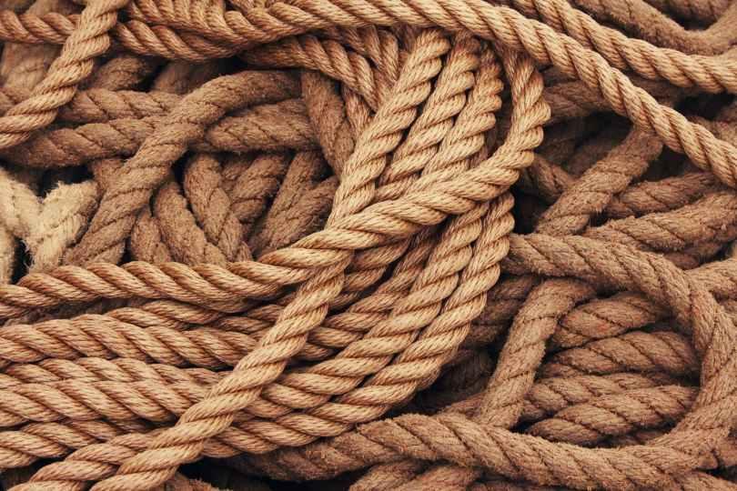 rope dew brown beige
