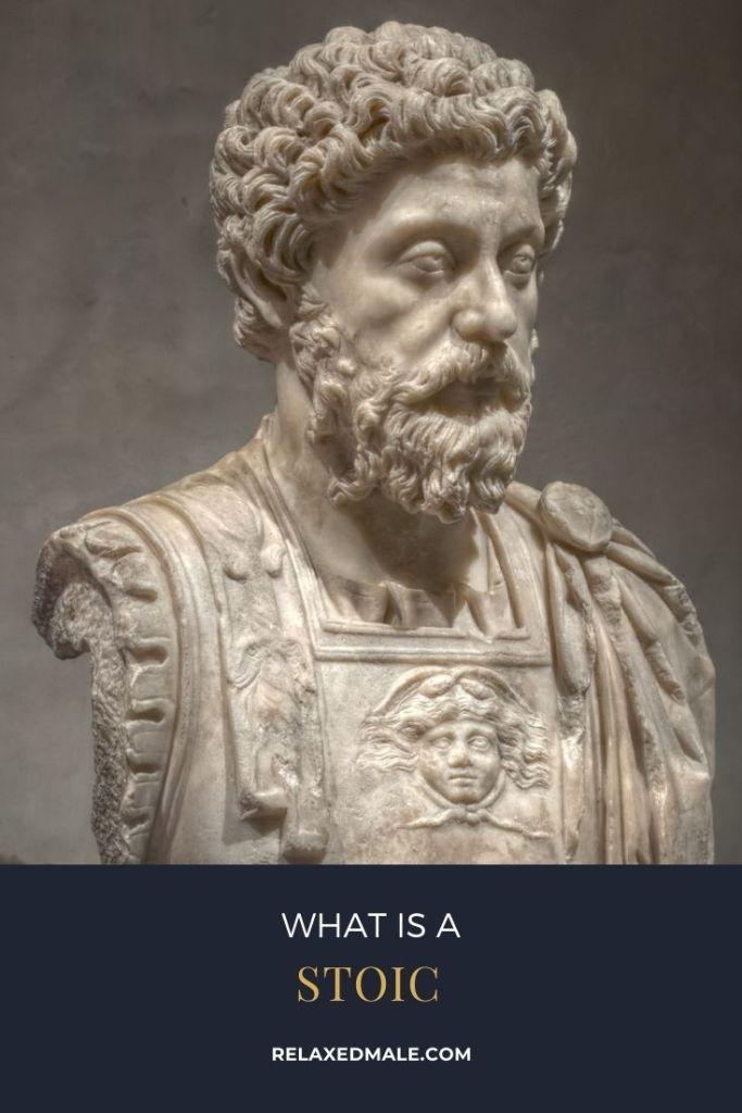 Like the stoic Marcus Aurelius men seek to understand their emotions.