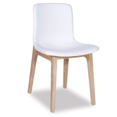 White Leather Bar Chair Chairs That Sit On The Floor Upholstered Dining