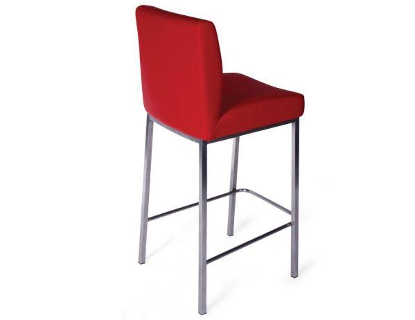 red kitchen stools Modern Kitchen Bar Stool Red