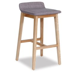 Height Of Kitchen Bench Baskets Vasco Scandinavian Timber Bar Stool - Natural American Ash ...