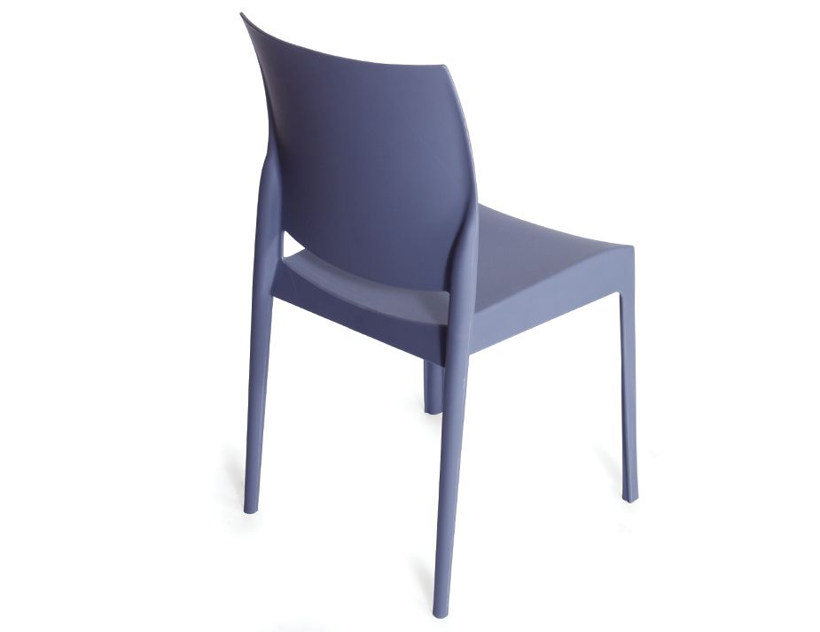 Modern Grey Patio  Cafe Chair