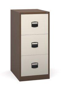 Bisley - 3 Drawer Metal Filing Cabinet