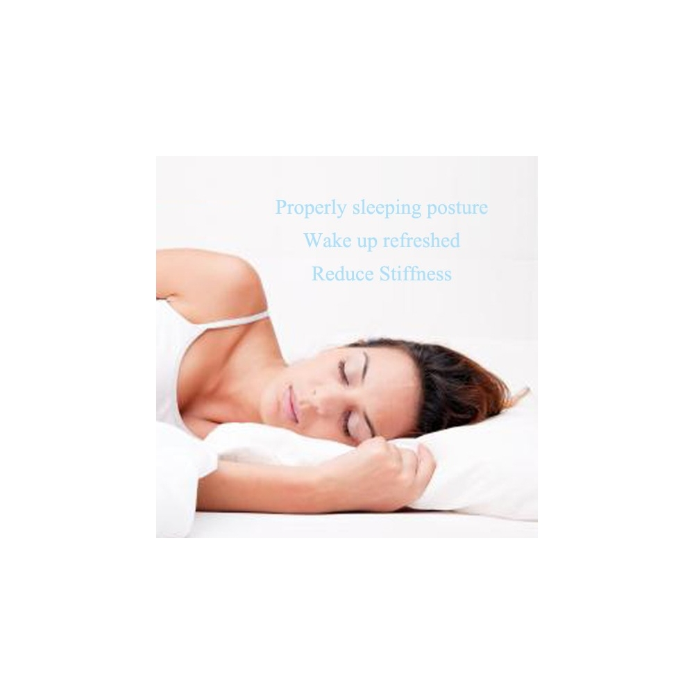 Bamboo Side Sleeping Pillow with Ear Hole