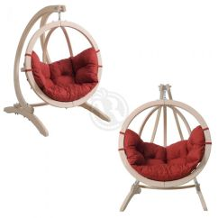 Hanging Chair For Baby White Armless Desk Stand Hammocks And Chairs Carrello Relaxtribe With Kid S Globo Sold Separately