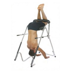 Hanging Upside Down Chair For Back Black Covers Near Me Invertrac Bent Knee Inversion
