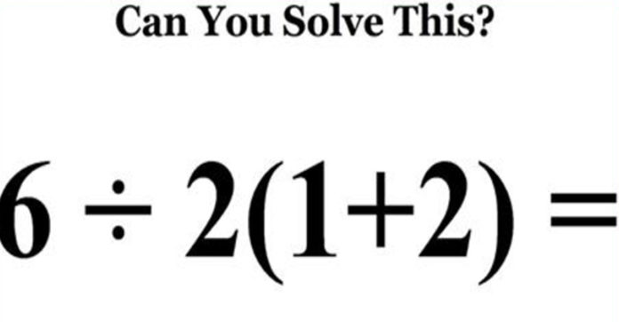 This 'Simple' Math Problem Is Really Confusing The