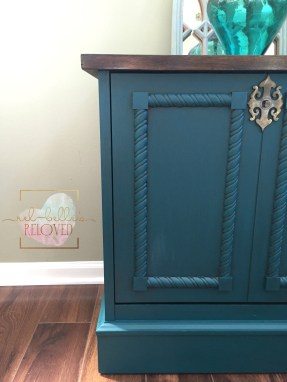 Teal Cabinet