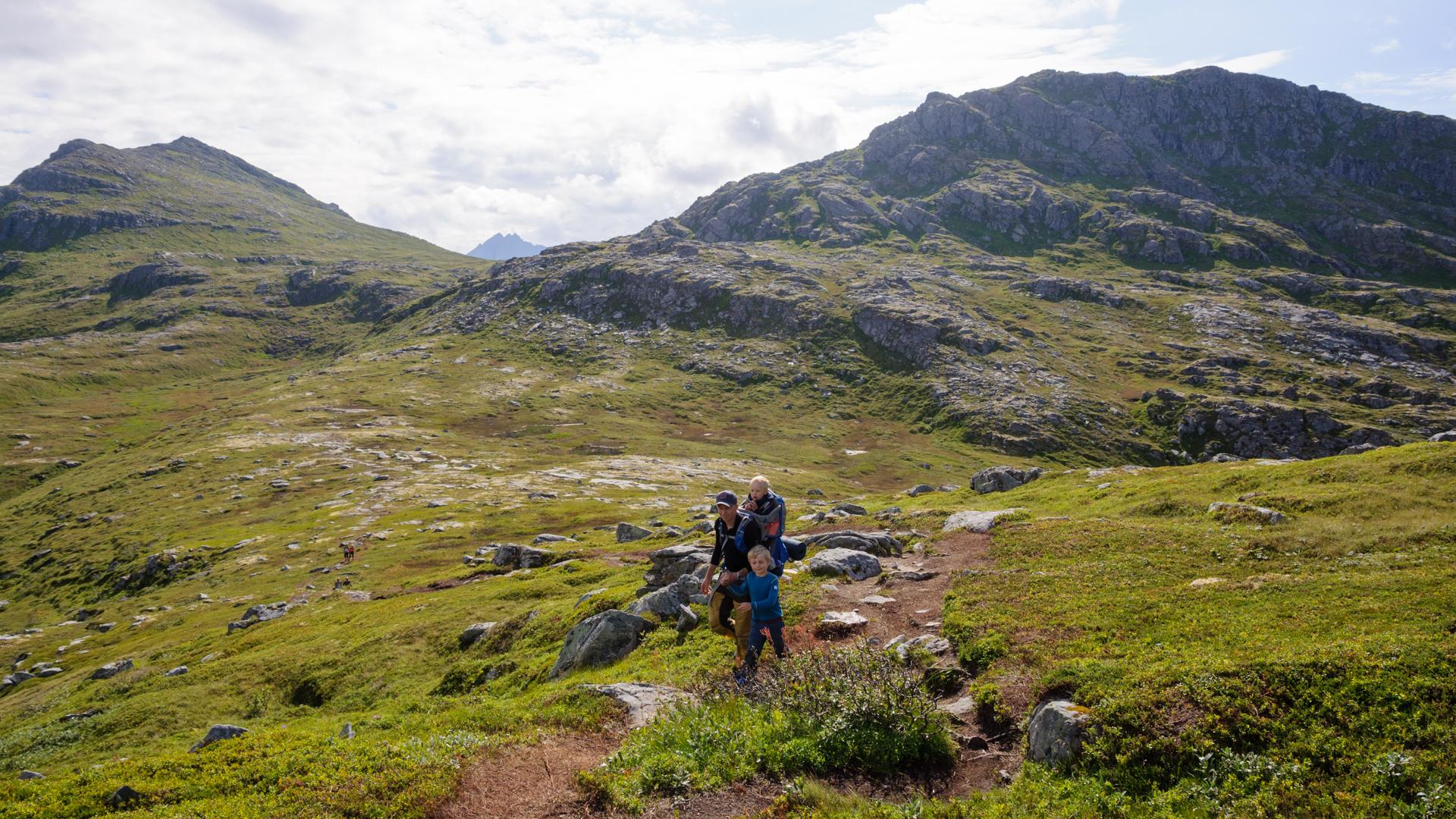 Permalink to: Tips och trix för fjällvandring med barn