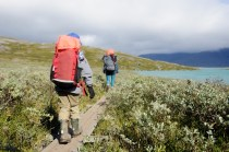 Reldin Adventures - Fjällräven Classic 2018 - Family hiking