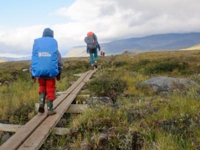 Reldin Adventures - Fjällräven Classic 2018 - Fjällvandra med barn