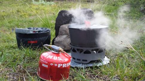 Reldin Adventures - Jämtlandsfjällen - Primuskök