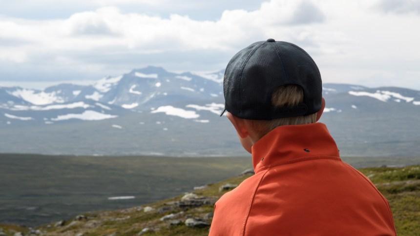 Reldin Adventures - Jämtlandsfjällen - Sexåring i fjällen