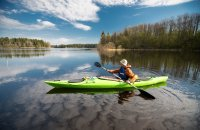 How to Fish Out of a Kayak Year Round