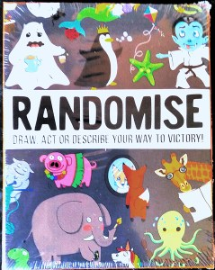 Front of the Randomise Box