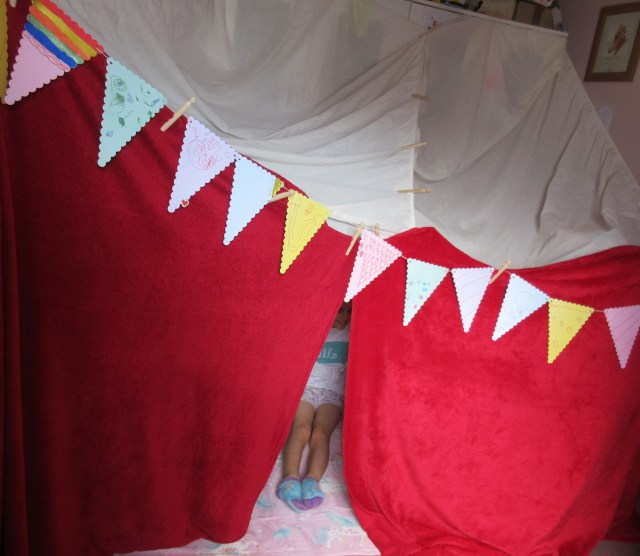 Building Forts for fun
