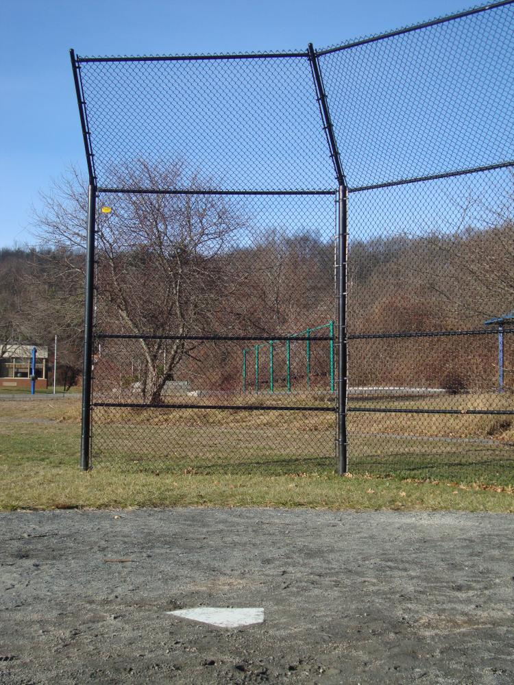 Baseball Backstops Batting Cages  Dugouts  Reliable Fence