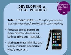 Total Product Offer and Marketing Research