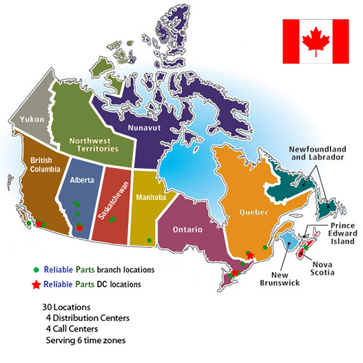 Reliable Parts Appliance Parts Store Locations In Canada Reliable Parts