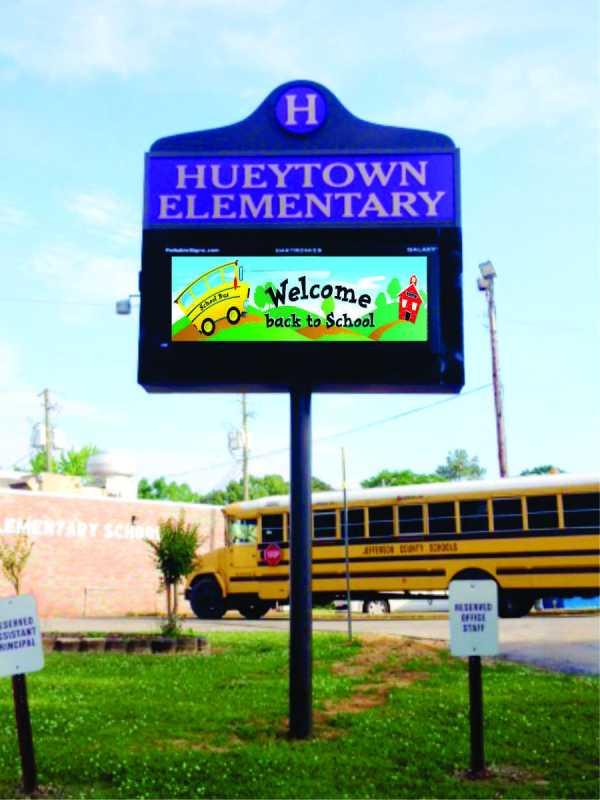 Elementary School Sign