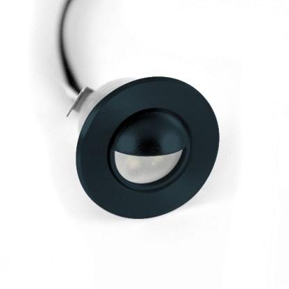 mini black scoop light
