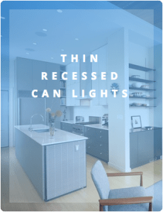 THIN RECESSED LED CAN LIGHTS