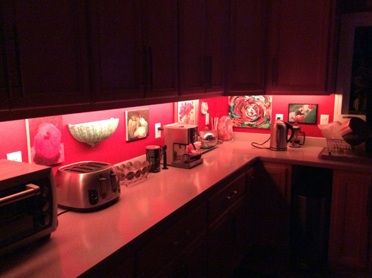 Rgb Under Cabinet Led Lights And Wifi Controller Reliabrite