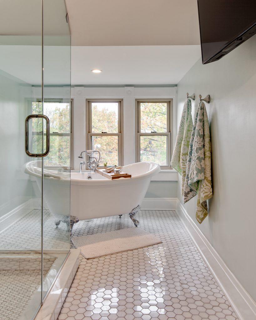 Retro Modern Bath Master Suite Remodel Reliance Design Build Los Angeles Home Contractorsreliance Design Build Los Angeles Home Contractors