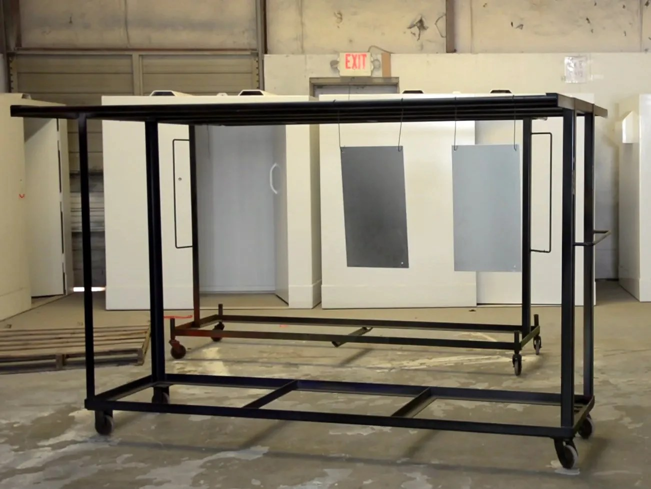 hight resolution of custom parts racks for powder coating