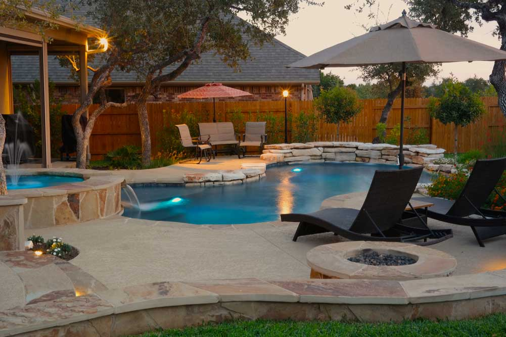 Gallery  Austin Pool Builders  Reliant Pools Austins Custom Pool Builder