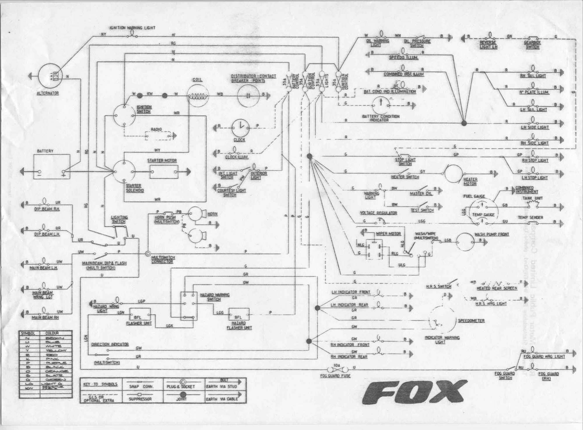 hight resolution of reliant fox wiring diagram covers most of tempest asquith vantique mk2 and mk3 robin