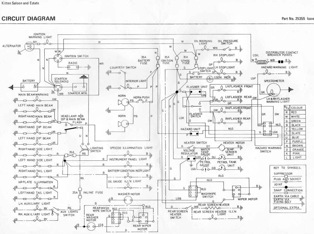 medium resolution of reliant spares wiring diagrams gmc fuse box diagrams estate wiring diagram