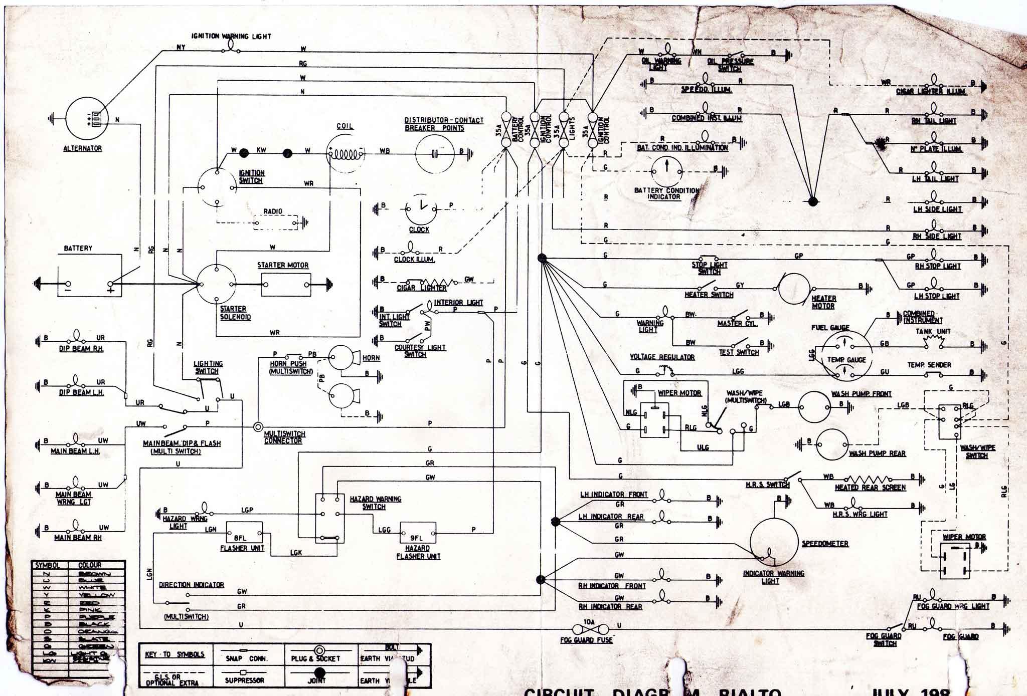 and wiring diagram e46 reliant spares diagrams rialto