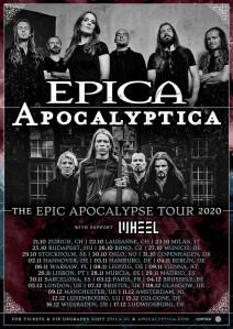 EPICA e APOCALYPTICA: insieme un tour europeo insieme e data in Italia a ottobre