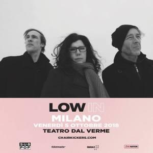 LOW: il 5 ottobre live al Teatro dal Verme di Milano