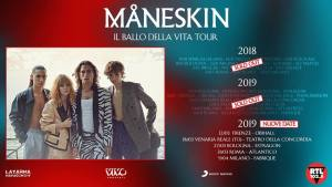 Måneskin in concerto a Firenze