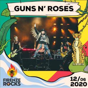 I Guns N' Roses annunciati come nuovi headliner del Firenze Rocks 2020