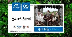 Saor Patrol: Hello Folks – World Session 2019 al Parco Tittoni di Desio(Mb)
