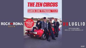 The Zen Circus al Rock in Roma il 5 luglio