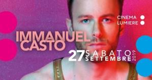 Immanuel Casto live @ Cinema Lumière - Pisa