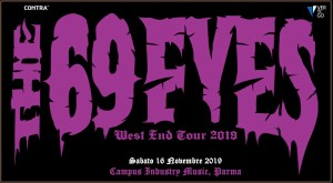 The 69 Eyes: Live @Campus Industry Music (Parma) il 16 Novembre