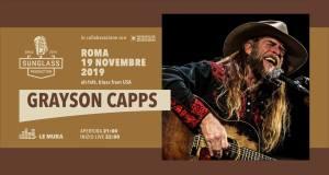GRAYSON CAPPS Live a Le Mura Roma