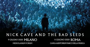 Nick Cave and The Bad Seeds due date in Italia per la primavera 2020.