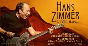 HANS ZIMMER: in arrivo il tour europeo 2021